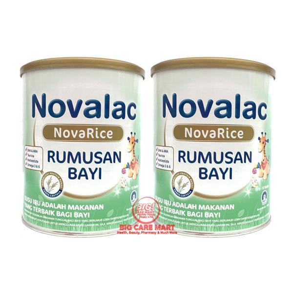 Novalac Novarice Milk for Cow Milk Allergy (800g x 2 Tins) + FREE GIFT