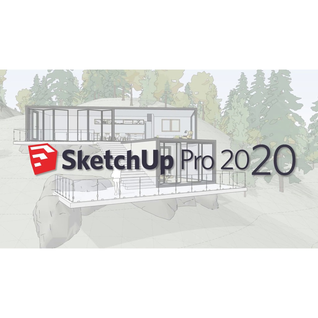 SketchUp Pro 2020 + Vray 2020 [Full Version & Install Video Tutorial] |  Shopee Malaysia
