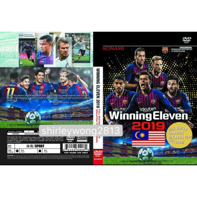 Ps2 Winning Eleven 2019 ⚽🏃(NEW)(Eng) Full Transfer + Include Malaysia  Team💯🌟