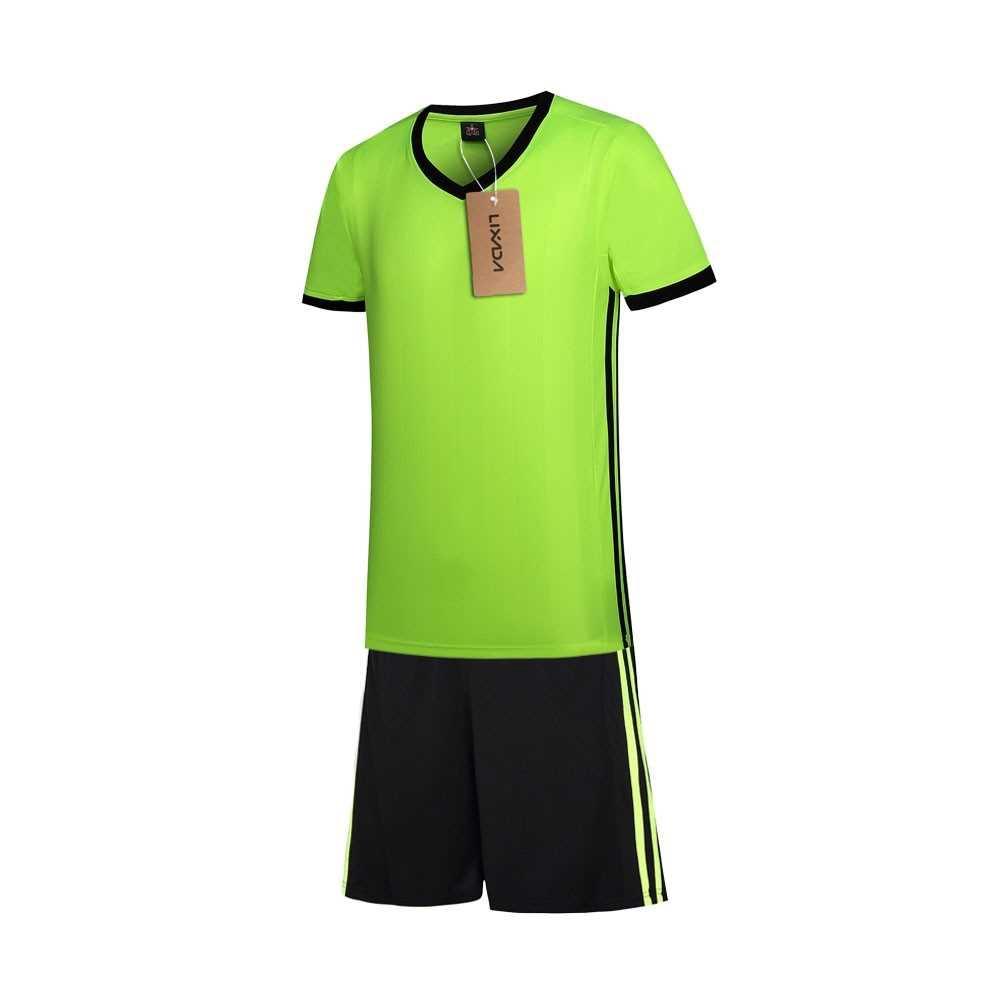 Lixada Football Shirt Uniforms Set (light green)