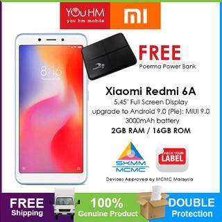 Xiaomi Redmi 6A ( 2GB + 16GB ) M'sia Set