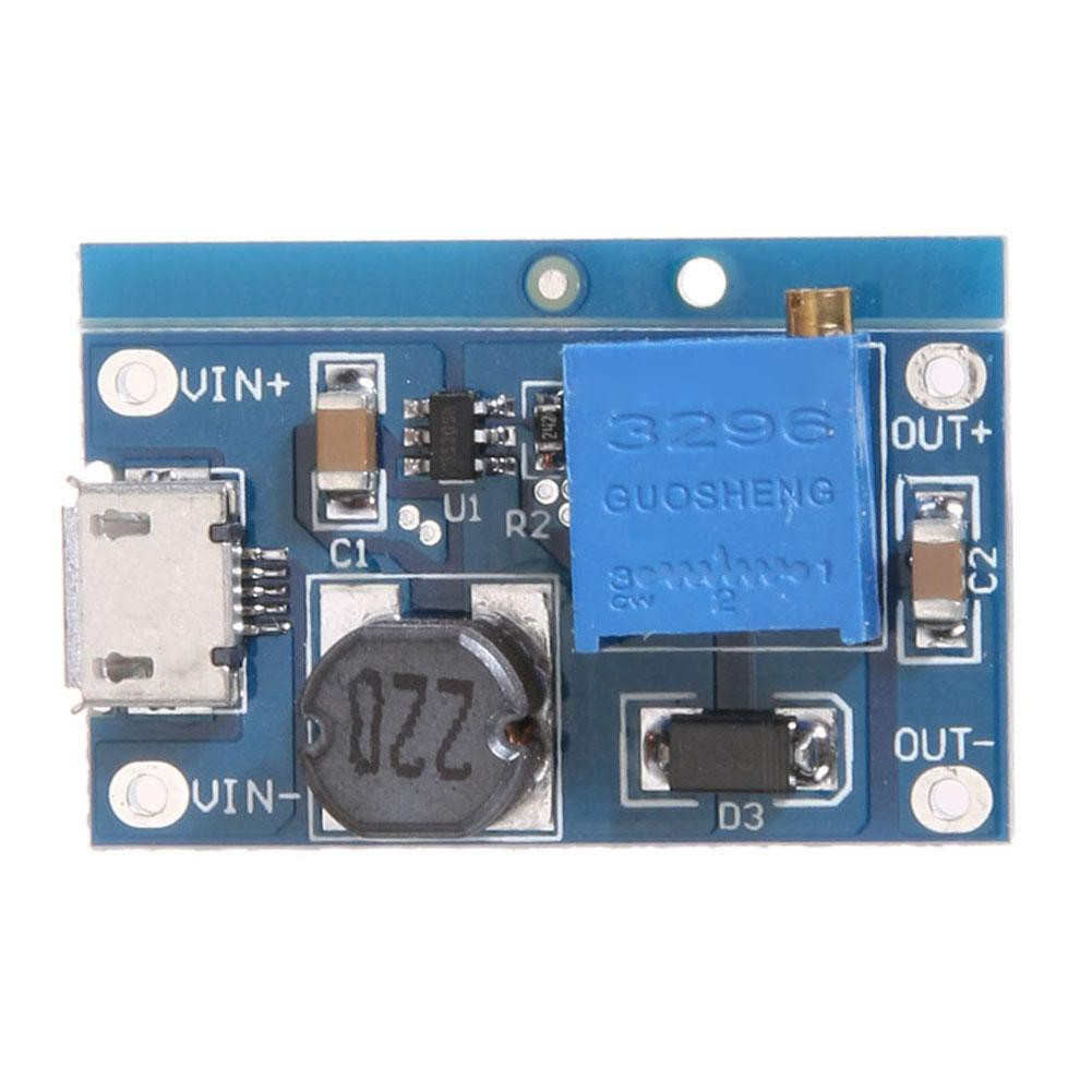 2a Max Dc Boost Step Up Conversion Module 2v 24v To 5v 28v Modul Micro Usb Mt3608 Output Shopee Malaysia