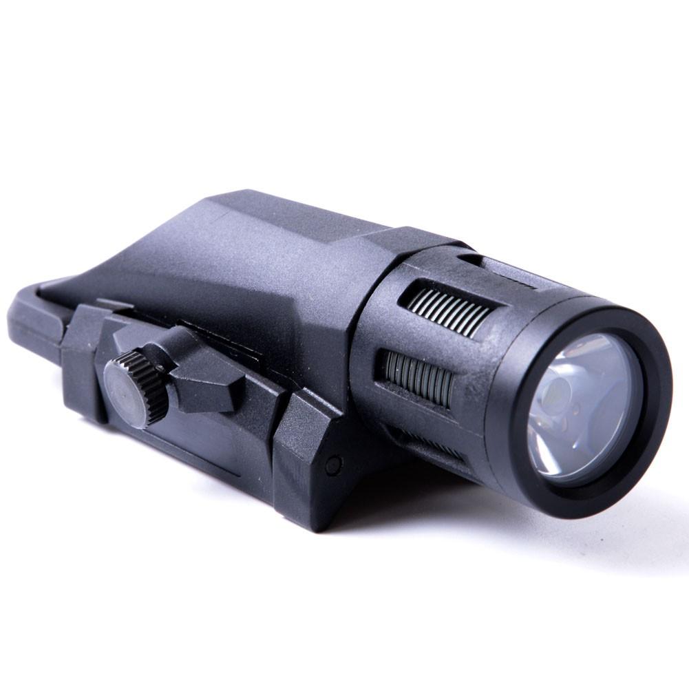 Tactical 400 Lumen Weapon Mounted Light Multifunction White LED Flashlight