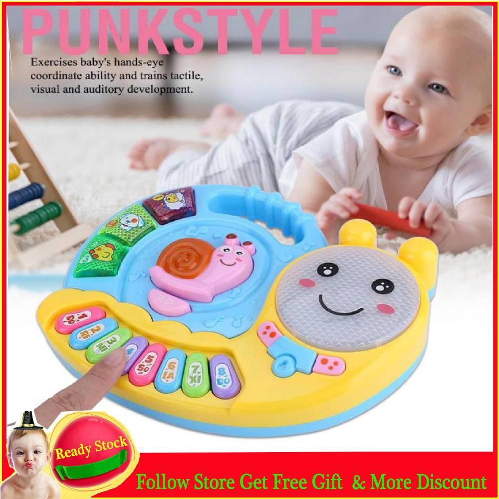 1Pc baby kids musical educational piano animal developmental music toys  cr