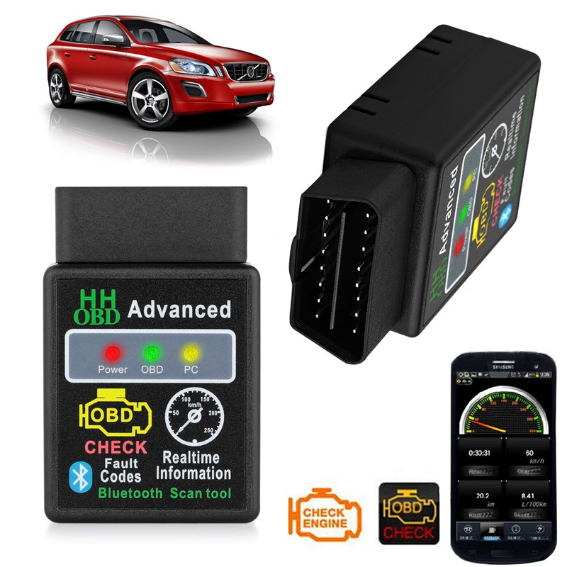 Bluetooth ELM327 V2 1 OBD2 Car Scanner Android Torque Auto Diagnostic Scan  Tool