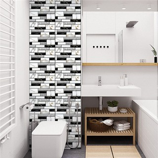 Sh 3d Wall Sticker Self Adhesive Wallpaper Kitchen Bathroom