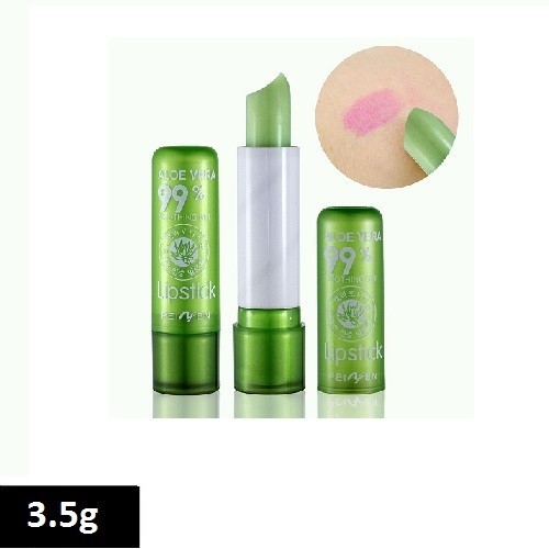 Kiss Beauty 99% Aloe Vera Soothing Gel Moisturizing Lipsitck 3.5g