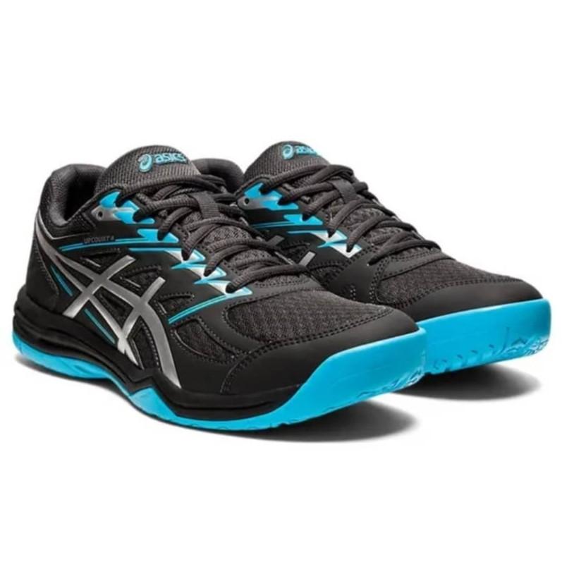 Asics Upcourt 4 Badminton Tennis Shoes Training 100% Original