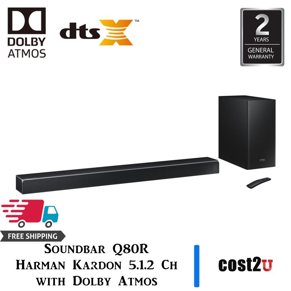Samsung Harman Kardon 5.1.2-Channel Soundbar w// Wireless Subwoofer Dolby Atmos