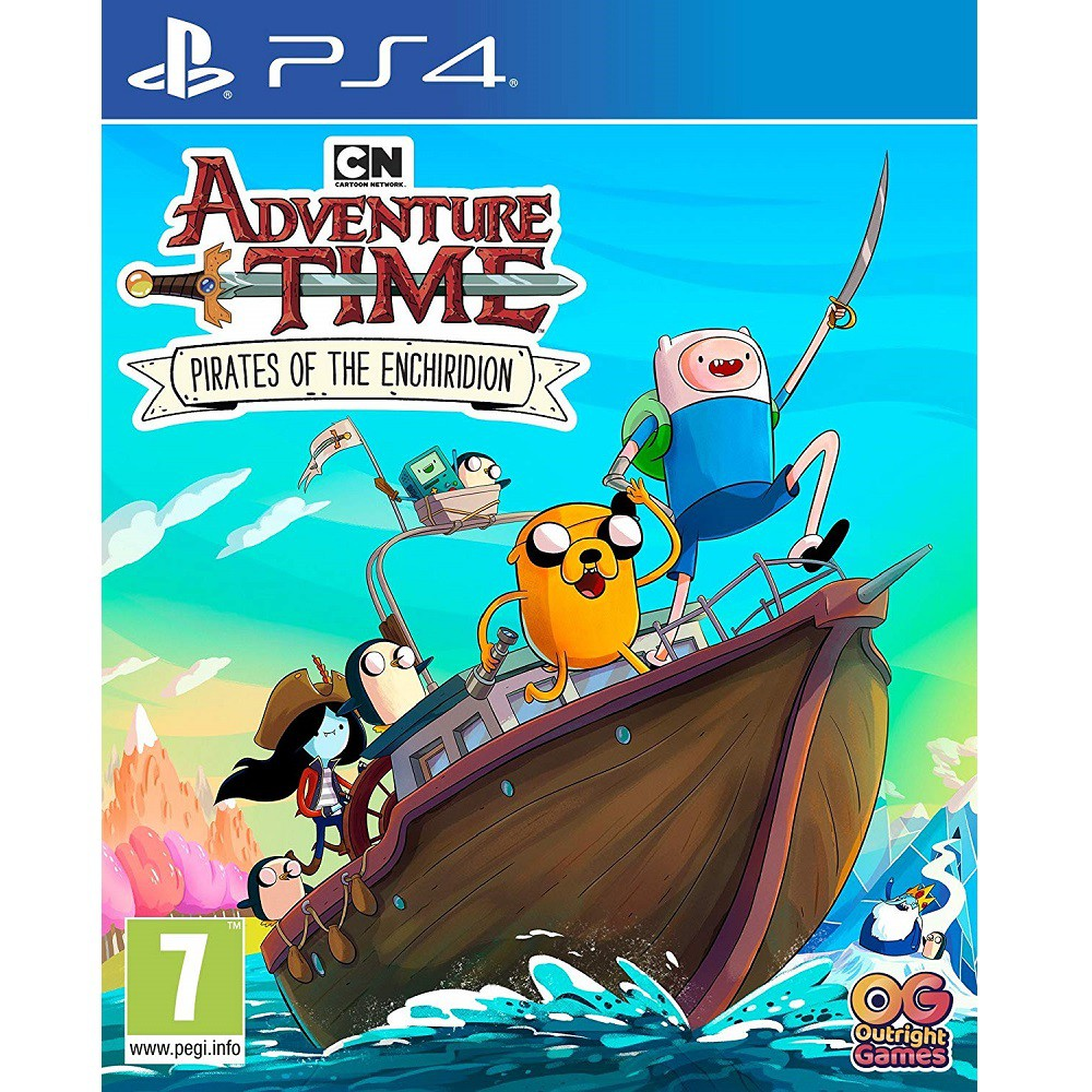 PS4 Adventure Time Pirates of the Enchiridion (ENG) Digital Download
