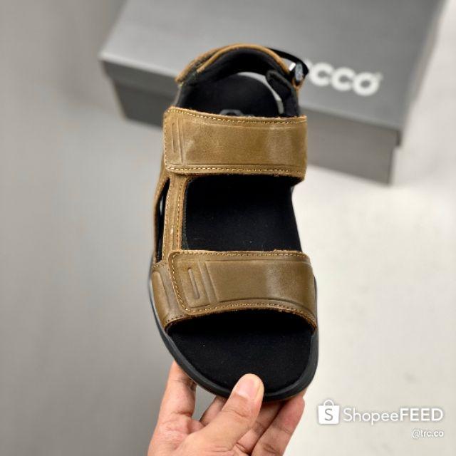 ECC02020 Unisex 250 Lifestyle Sandals Premium - Brown/Black