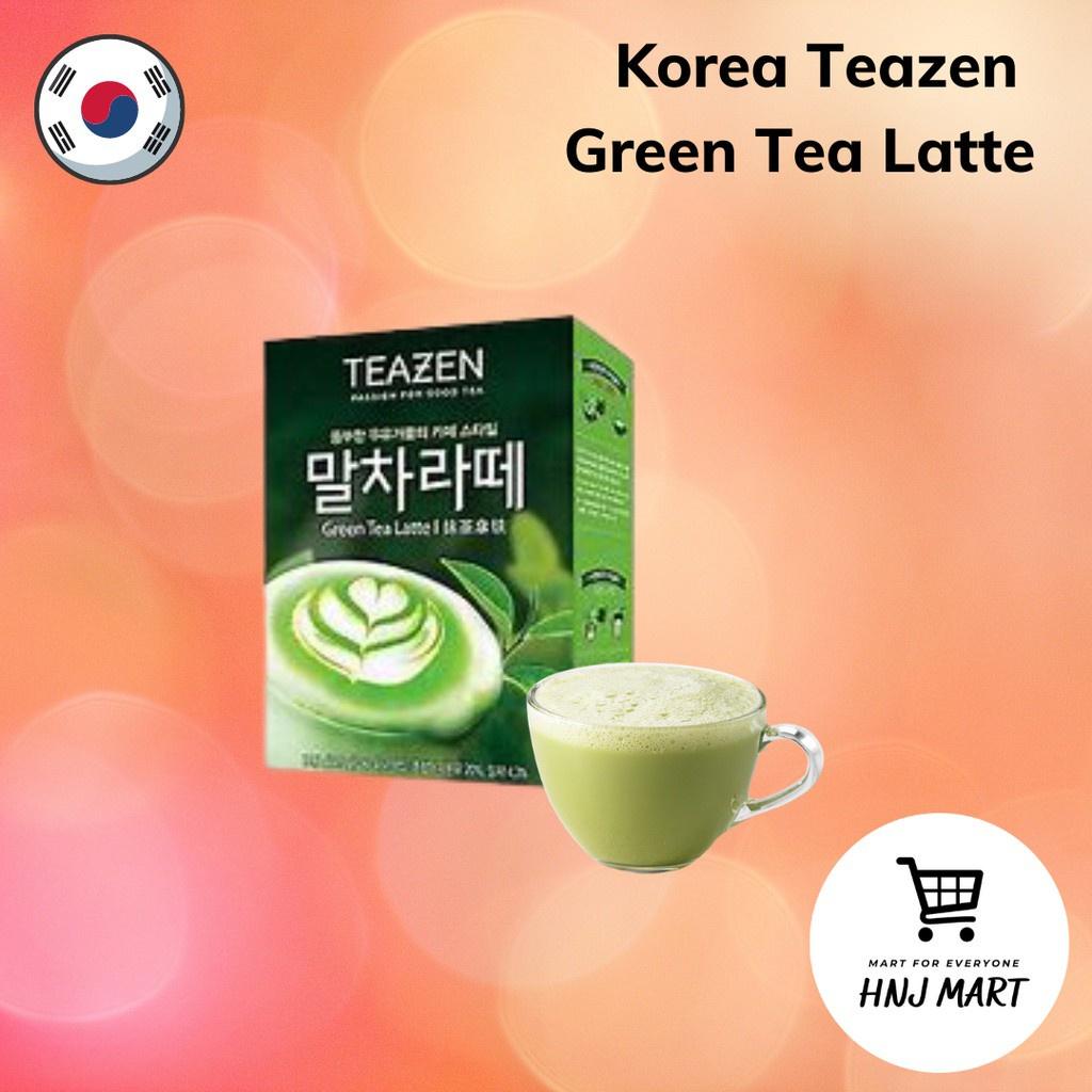 Korea Teazen Green Tea Latte (7 sachets)