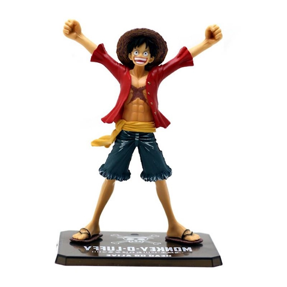 15cm Anime One Piece Luffy Figure Monkey D Luffy Pvc Action Figures Toy Collectable