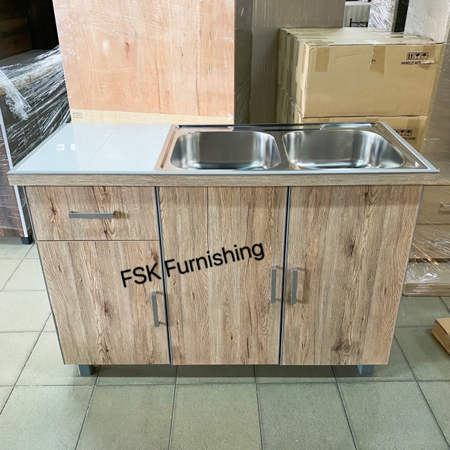4ft Basin Cabinet Kabinet Dapur Sinki Delivery Area Kl Selangor Only Shopee Malaysia