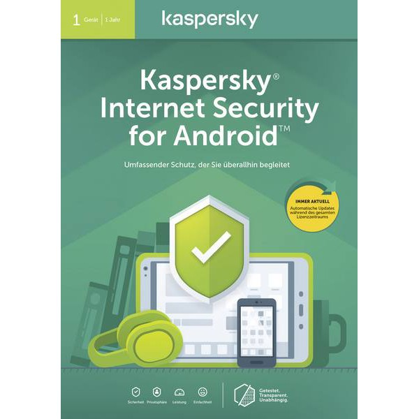 Kaspersky Internet Security for Android (1 YEAR 1 DEVICE)