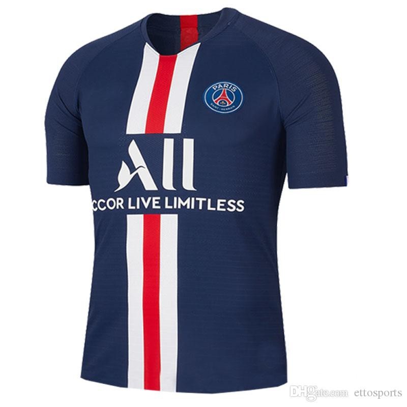 on sale ce3ae af9f9 2019-20 Thai version of the high quality Paris Club jersey