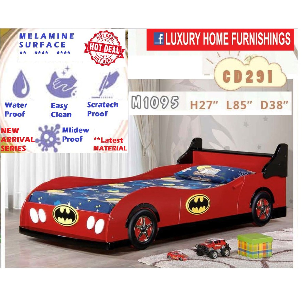 CAR BED, MELAMINE SURFACE SERIES, 2020 MODEL