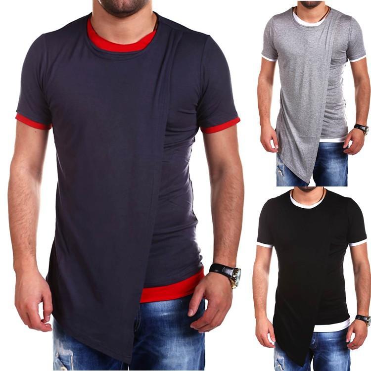 a70a0df6 Unbalance Pocket short Sleeve T Shirt Mens Tops Tees   Shopee Malaysia