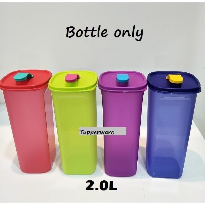 Tupperware Smiley Bottle 2L Fridge Bottle