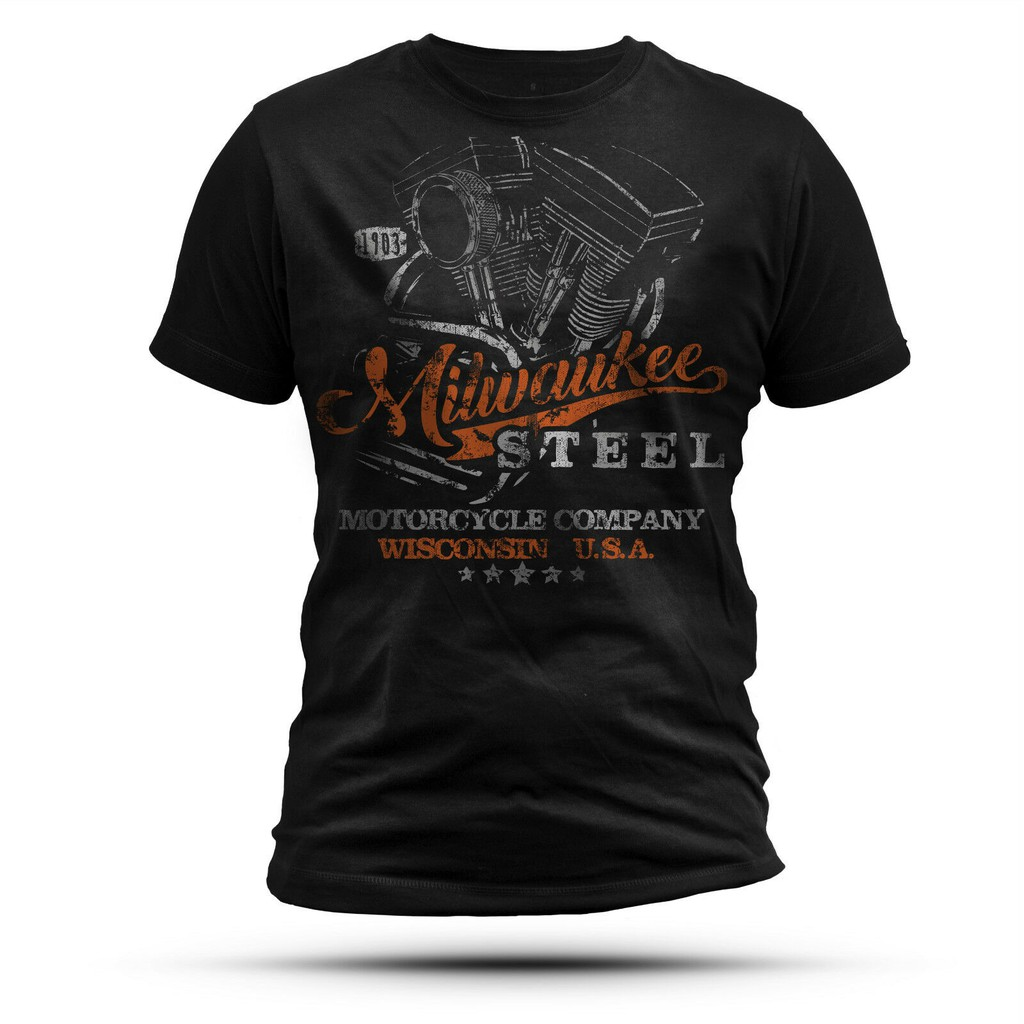 Harley-Davidson Men/'s T-Shirt Black 100/% Cotton Size L XL NEW