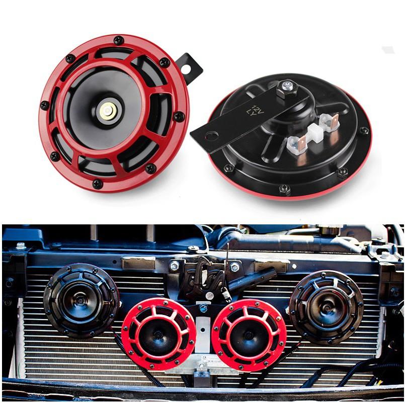 LOUD SNAIL COMPACT DUAL TONE AIR HORN 139dB 12V CAR TRUCK RV AUTO MOTORCYCLE