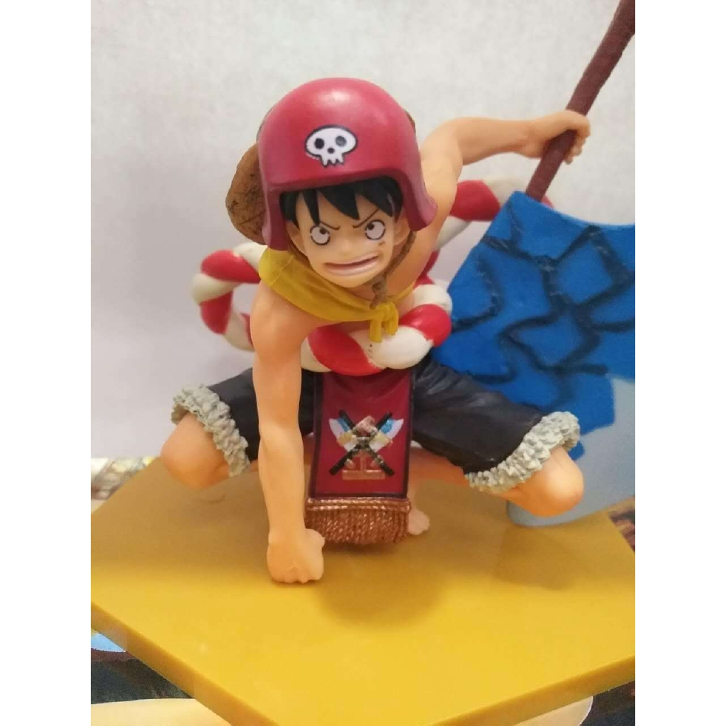 🔥/ Highest Point Droiyan Zero Theatre Edition Axe Monkey D Luffy Hand Do  Model🔥