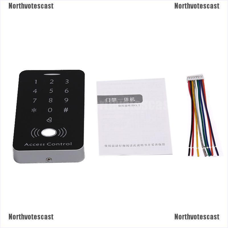 RFID Access Control System Security IDCard Password Door Lock With 10   US
