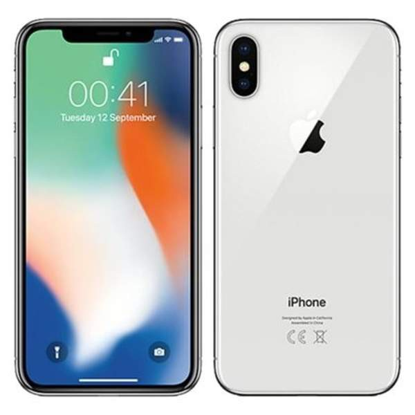 APPLE (original )IPHONE X 64GB (SILVER) (READY STOCK)