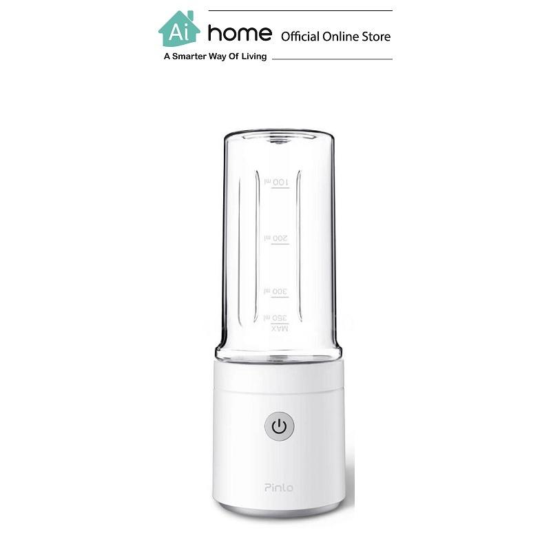 PINLO Smart Portable Handy Juice Machine 350ml (White) with 1 Year Malaysia Warranty [ Ai Home ]