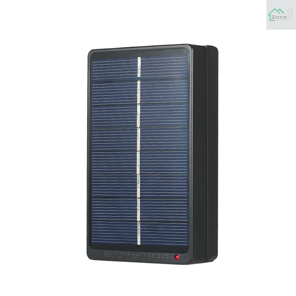 Battery Charger 1W 4V Charging 2*AA//AAA Batteries Solar Board Eco-friendly  AS
