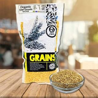 Organic oat groats 500g | Shopee Malaysia