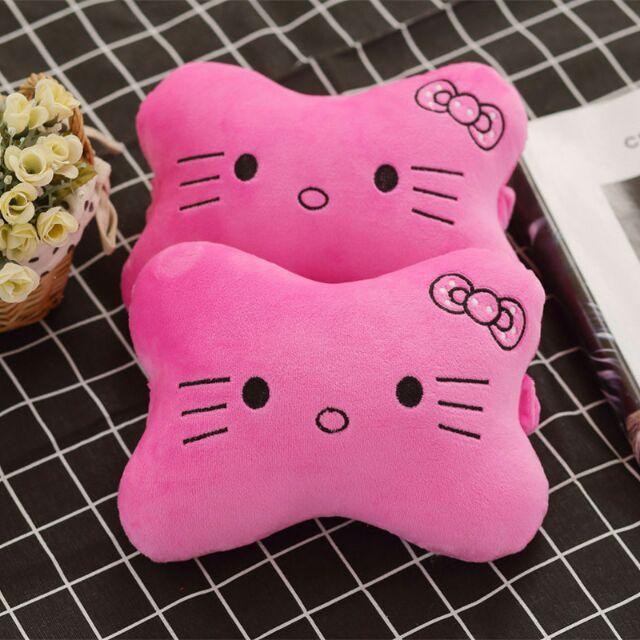 Hello Kitty Totoro Strawberry Car Cute Neck Cushion Pillows