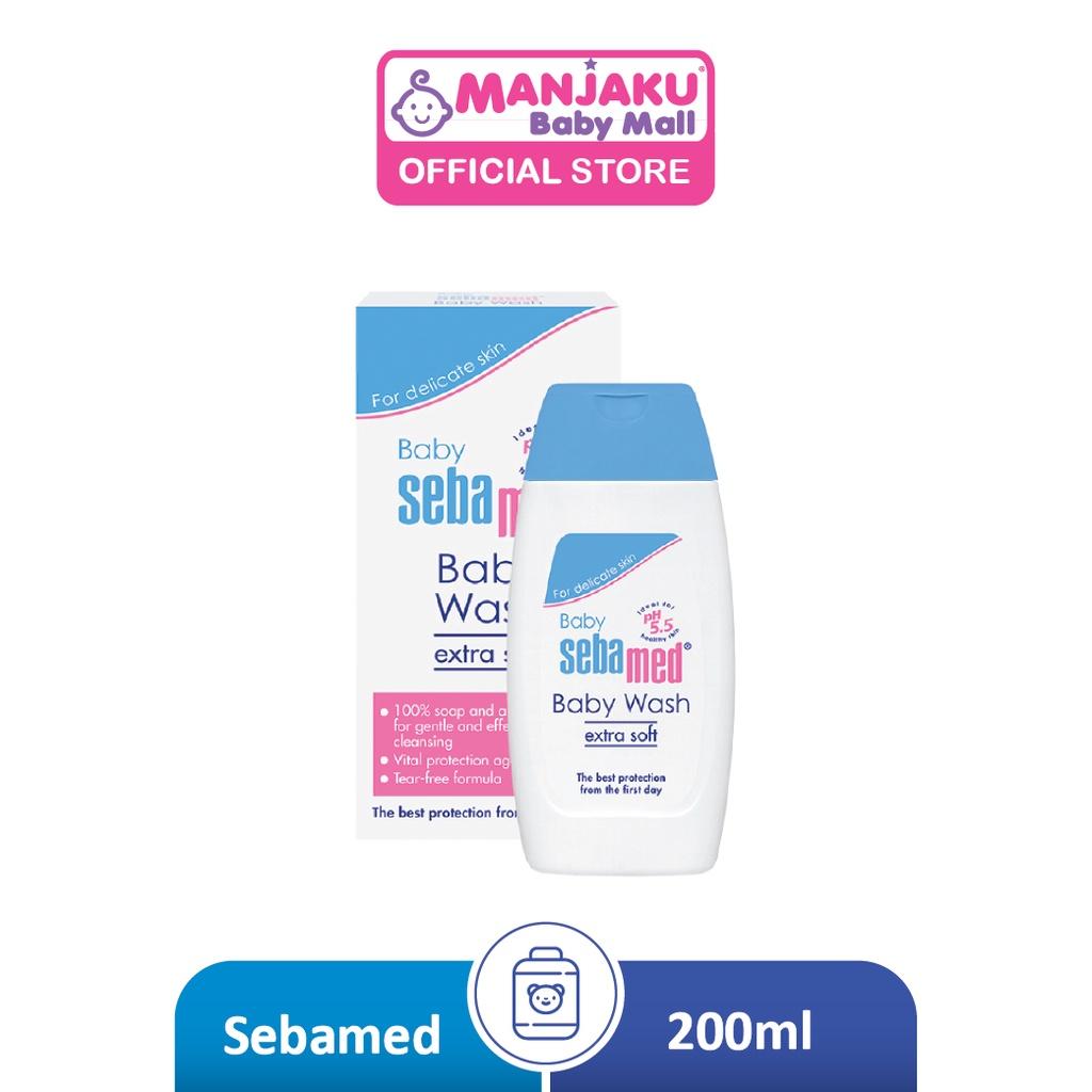 SebaMed Baby Wash Extra Soft 200ml