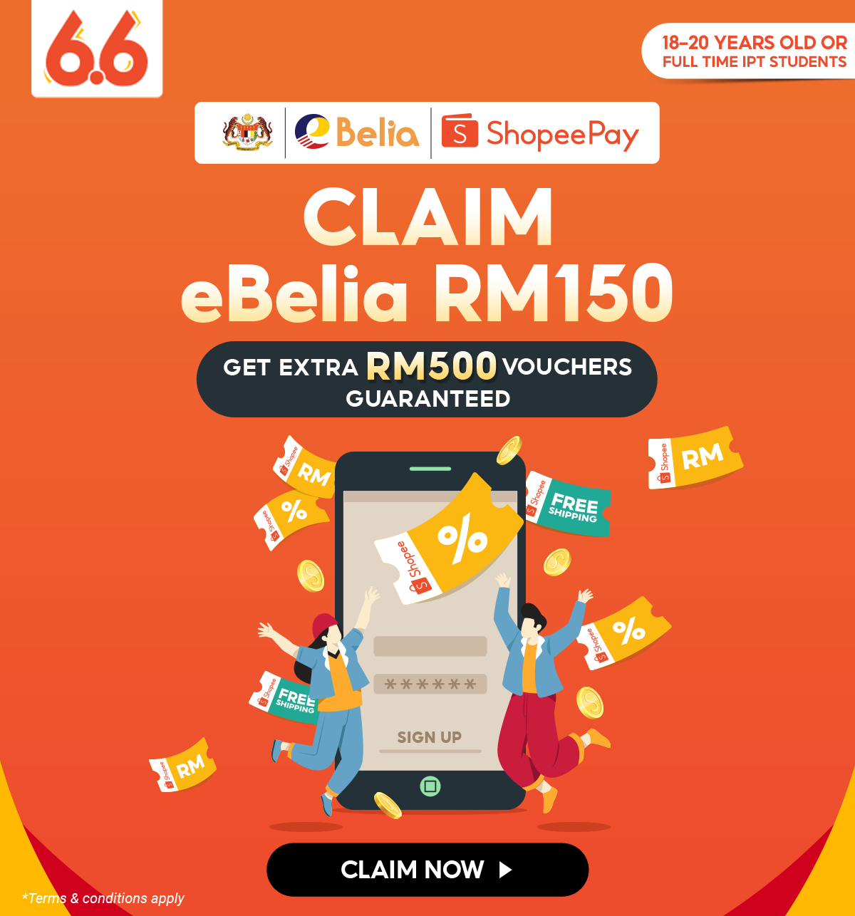 eBelia 2021 | Claim eBelia RM150 & Get Extra RM500 Vouchers | Shopee  Malaysia