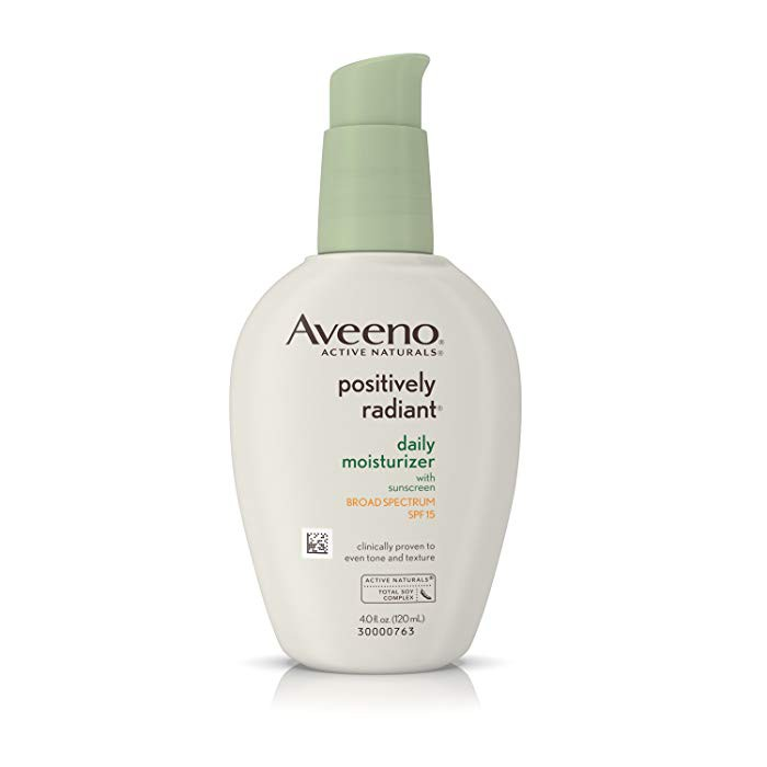 eecf0a9357e Aveeno, Active Naturals, Positively Radiant, Daily Moisturizer, SPF 30, (75  ml) | Shopee Malaysia