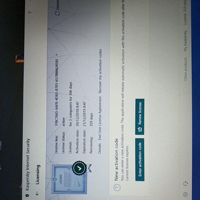 Kaspersky Internet Security 2019 1pc Genuine | Shopee Malaysia