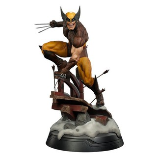 1//6 Scale Toy X-Men Logan Wolverine Steel Wolf Figure Stand