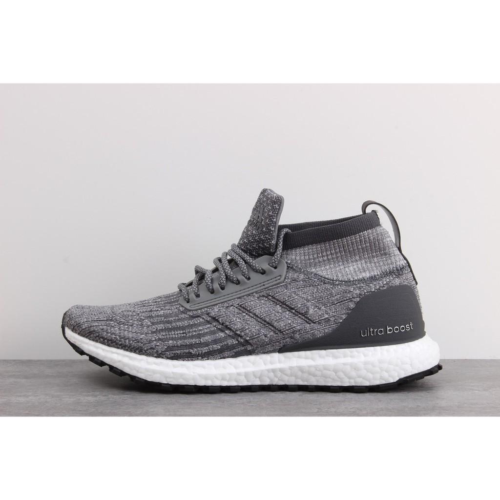 size 40 b1183 005ec Adidas Ultra Boost UB ATR black and white midi socks running shoes CG3000