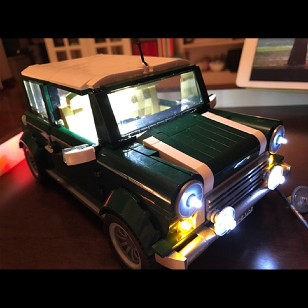DIY USB Powered LED Lighting Licht Kit ONLY für LEGO Creator 10242 Mini Cooper