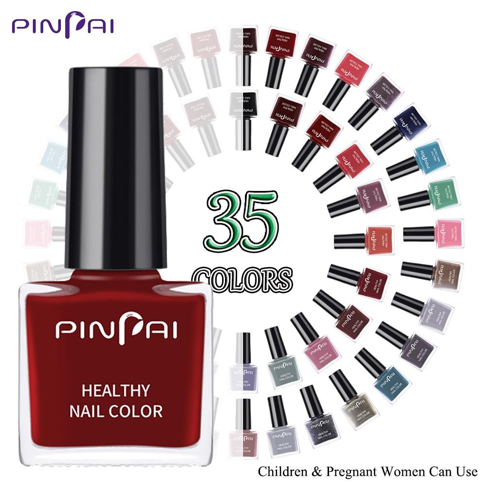 Pinpai Natural Non Toxic Water Based Peelable Nail Polish Kids Pregnant Women Nail Varnish Easy Remove Nail Lacquer 6ml Shopee Malaysia