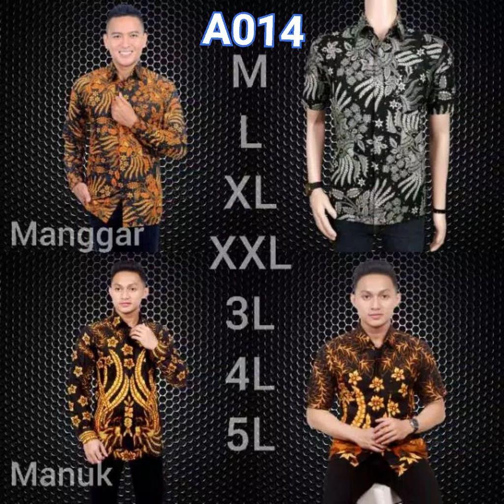 NEW kemeja batik cotton m-5xl