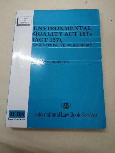 Environmental Quality Act 1974 Act 127 Shopee Malaysia