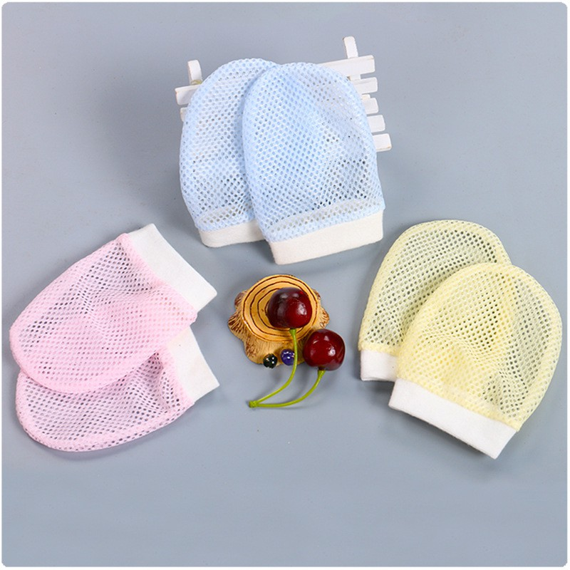 Baby Anti-Scratch Gloves Face Gloves Breathable Gaby Gloves 婴儿防刮伤手套 BB0007
