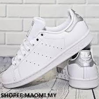 excellent quality affordable price detailed images Adidas Original Stan Smith Metallic Silver