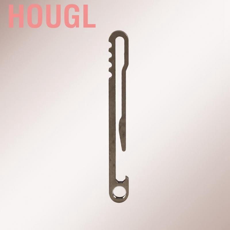 High Quality EDC Titanium Alloy Buckle Carabiner Keychain Key Ring Clip Hook US