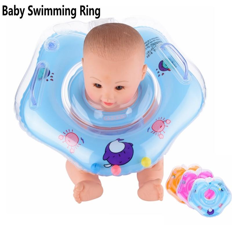 New! Baby Swimming Safety Neck Float Circle Swim Neck Ring | Shopee ...