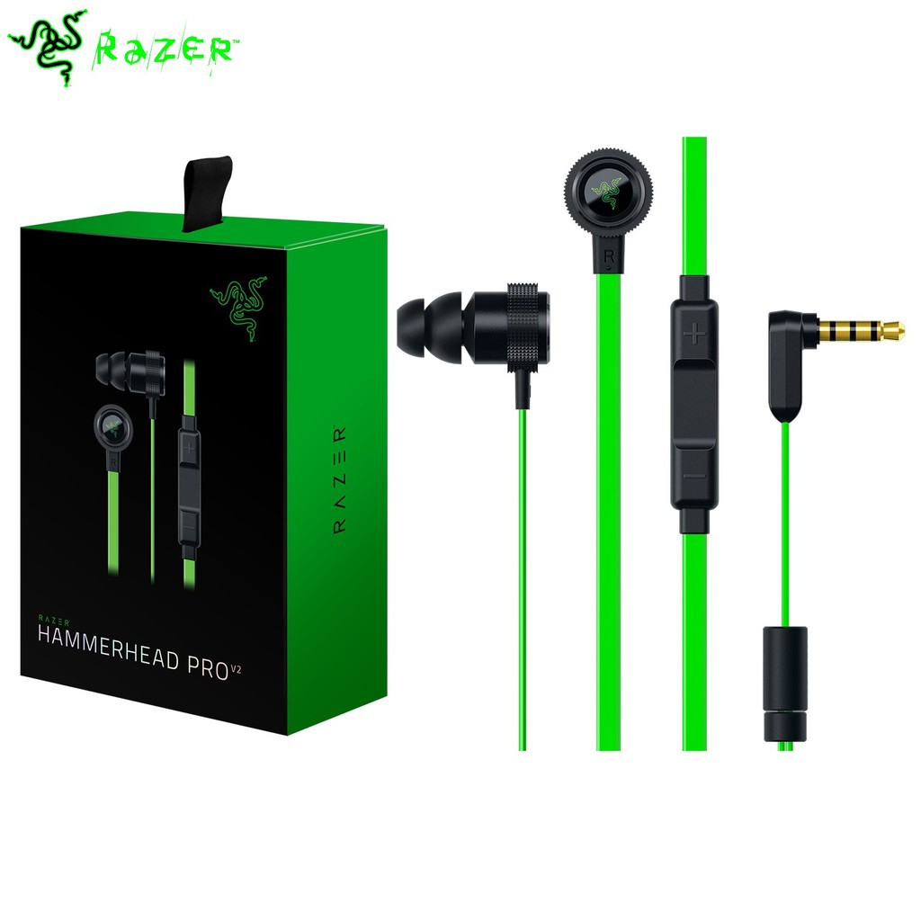 Razer Hammerhead Bluetooth Wireless In Line Remotemicclear Stock Bt Premium Gaming Earphone Headset Headphone Only 10 Unit Shopee Malaysia