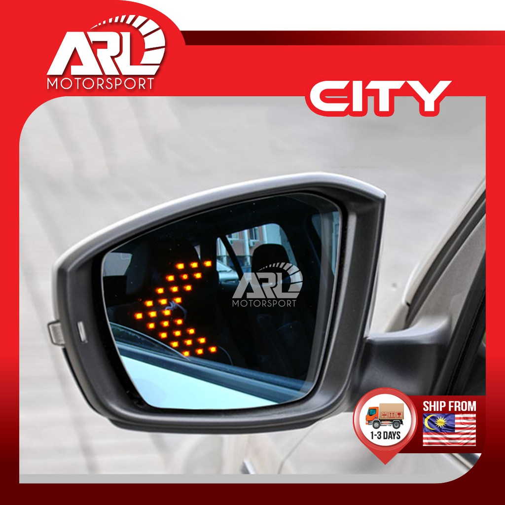 Honda City (2014-2020) GM6 Blue Side Mirror LED Signal Lamp Car Auto Acccessories ARL Motorsport
