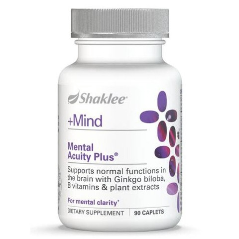 Shaklee Mental Acuity Plus 嘉康利银杏片