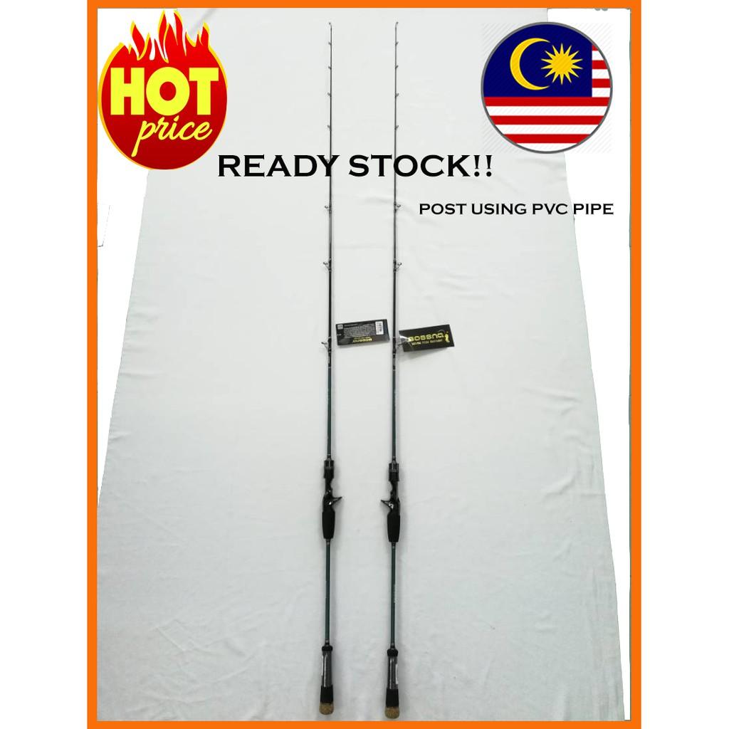 Rod Bossna Bs Moster Jigg Joran Pancing Shopee Malaysia Joran Bossna